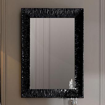 KERASAN Retro Зеркало Specchiera 70x100см, цвет: черный