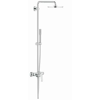 Grohe EDS Cosmo210XXL Душевая стойка, с однорычажным смесителем, верхний душ Ø21см., цвет: хром