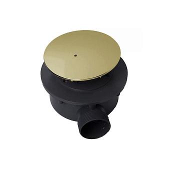 KERASAN Retro Сифон для поддона, диаметр 90, цвет: золото