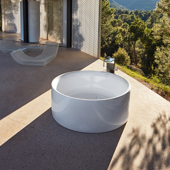 BETTE Pond Ванна напольная 150х150х45 см, с шумоизоляцией, цвет: белый