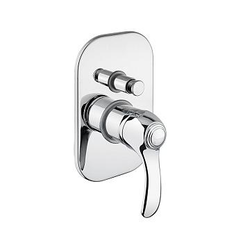 Webert Aurora Смеситель для ванны, встраиваемый, без душевого гарнитура, цвет: хром