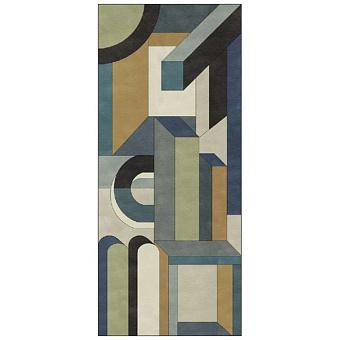 Ornamenta Operae Керамическая плитка 120х278см, настенная, декор: Visionary Blue