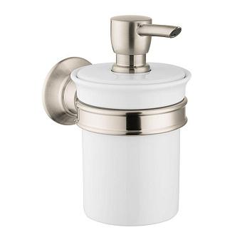 Axor Montreux Дозатор для жидкого мыла, цвет: шлиф.никель