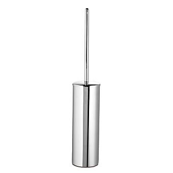 3SC Guy Туалетный ёршик, напольный, с длинной ручкой, цвет: хром