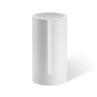 Decor Walther Stone RRB Корзина для запасного рулона бумаги, настольная, цвет: белый