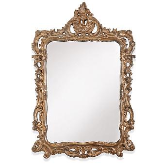 TW Зеркало в раме 71х107см, цвет рамы орех
