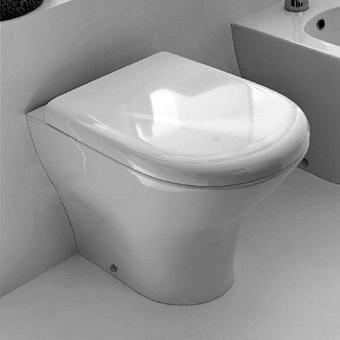 Kerasan Aquatech Унитаз напольный 55.5х35.5см, цвет: белый матовый