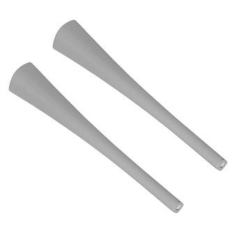 Artceram Civitas Ножки керамические для раковины (2 шт.), цвет: серый