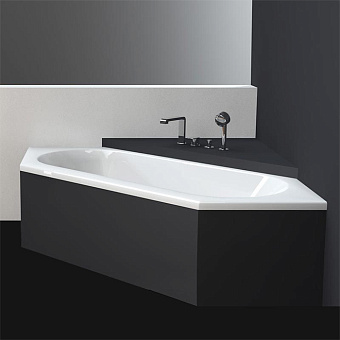 BETTE Starlet Ванна встраиваемая 200х75х42 см, шестиугольная, с шумоизоляцией, BetteGlasur® Plus, цвет: белый