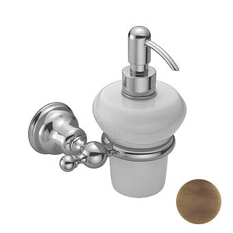 HUBER Croisette Дозатор подвесной, цвет бронза/керамика