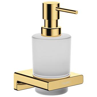 Hansgrohe AddStoris Диспенсер для жидкого мыла, цвет: полированное золото