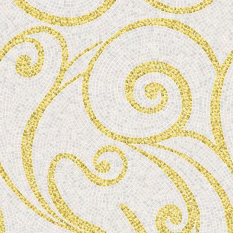 Trend Artistic Mosaic Мозаика 75x94.8см, настенная, стекло, декор: Miran Gold