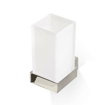 Decor Walther Corner WMG Стакан подвесной, стекло сатинированное, цвет: никель сатинированный