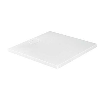 Duravit  Stonetto Поддон композитный квадратный  100x100х5см, d9см, цвет белый