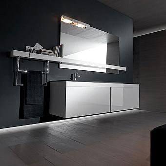 Karol Manhattan comp. №14, комплект подвесной мебели 250 см. цвет: Bianco Lucido