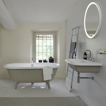 Agape Ottocento Small Ванна отдельностоящая 155х77.5х58 см, цвет: светло-серая