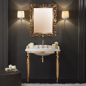 TW King структура металлическая 910x560xh850 с раковиной, материал: латунь, цвет отделки: золото