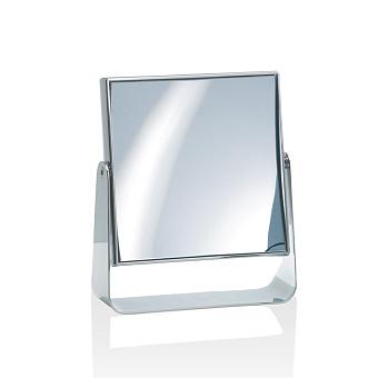 Decor Walther SPT 65 Косметическое зеркало 16.5x19см, настольное, увел. 5x, цвет: хром