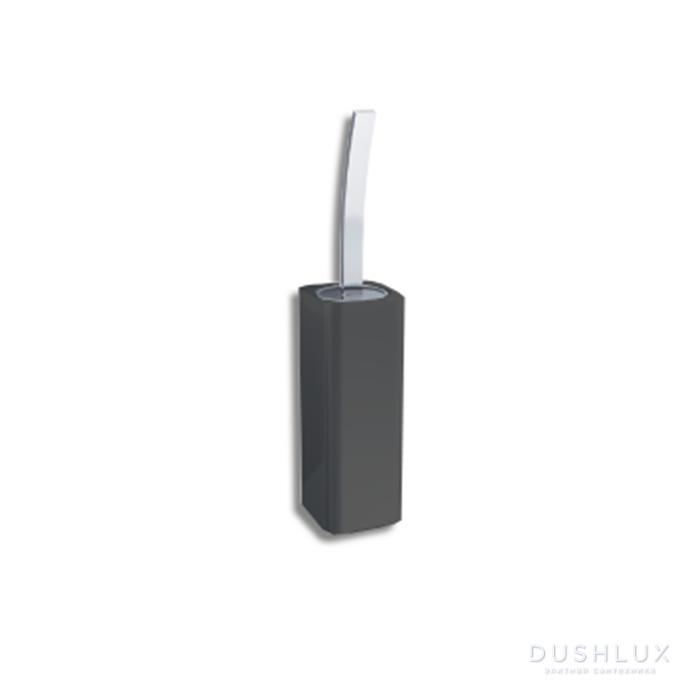Bertocci Duecento Ершик напольный цвет: белый/черный матовый