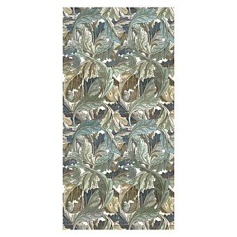 Devon&Devon Decor Slabs Керамогранит 120x240см, универсальная, глазурованнаный, декор: acanthus golden blue