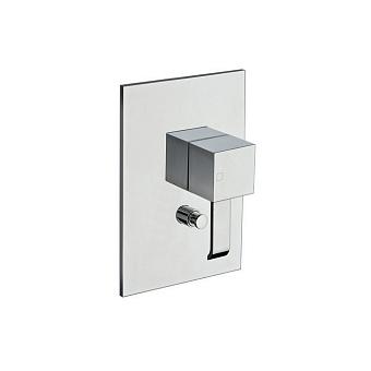 Cristina Quadri Смеситель для ванны/душа с переключателем на 2 выхода, встраиваемый, цвет: хром