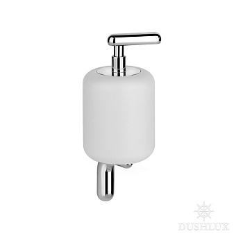 Gessi Goccia Дозатор для жидкого мыла подвесной, цвет: хром/белый