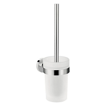Hansgrohe Logis Universal Туалетный ершик подвесной, цвет: хром/белый