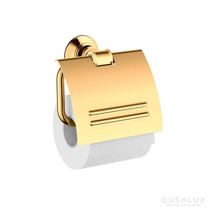 Axor Montreux Держатель для туалетной бумаги, подвесной, цвет: полированное золото