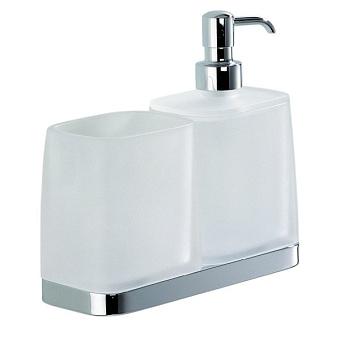 Colombo Time W4271 Дозатор для жидкого мыла со стаканом, настольный