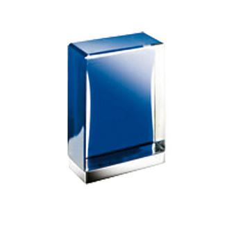 Fantini Venezia Ручка для смесителя, муранское стекло, цвет: хром-синий