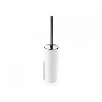KEUCO Edition 400, Хрустальная колба для туалетного ёршика, матовая