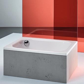 BETTE Душевой поддон прямоугольный 120х80хh28см, D52 мм, цвет белый