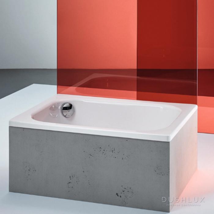 Bette Душевой поддон прямоугольный 120х80хh28см, D5.2см, цвет: белый
