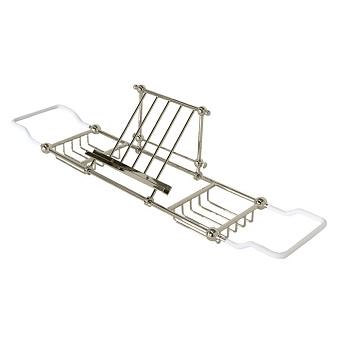 Devon&Devon First Class Решетка для ванны с подставкой для планшета, цвет: никель блестящий