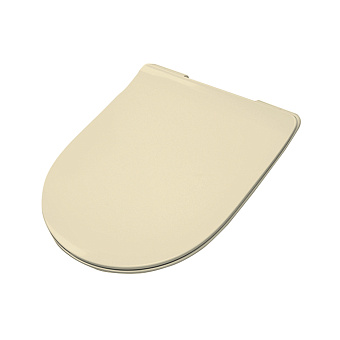 Artceram FILE 2.0 Сиденье для унитаза, супер тонкое, быстросьемное с микролифтом , цвет giallo zinco