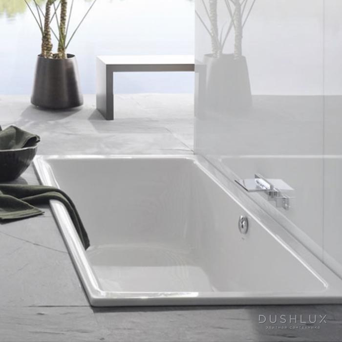 Bette Free Ванна встраиваемая 200х100х45 см, с шумоизоляцией, BetteGlasur® Plus, цвет: белый
