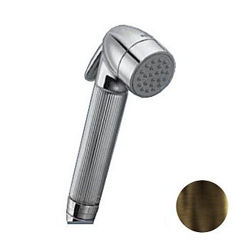 Nicolazzi Doccia Гигиенический душ, шланг 100см. гибкий. с поддержкой, цвет: тёмная бронза