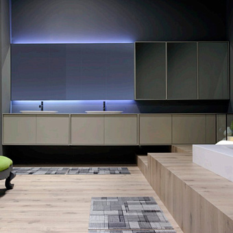 Antonio Lupi Planeta Комплект мебели 378х54х50 см