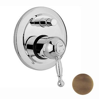 CISAL Arcana Royal Встраиваемый однорычажный смеситель для ванны/душа, цвет бронза