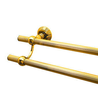Cristal et Bronze Alizé  Полотенцедержатель, подвесной, цвет: золото