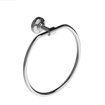 Stella Italica Полотенцедержатель кольцо настенный, цвет: хром
