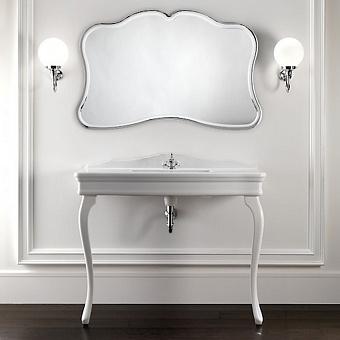 Devon&Devon Colette Декоративная структура с раковиной с 1отв. под смеситель , цвет: белая керамика