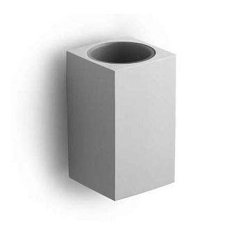 Bertocci Settecento Стакан подвесной, цвет: белый матовый композит/хром