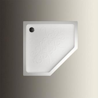 Devon&Devon Arabesque Поддон пятиугольный 100х100см, цвет: белый
