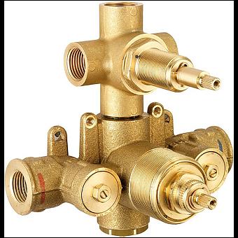 CISAL Встраиваемая часть термостатического смесителя с переключателем на 3 положения, ZA01820104