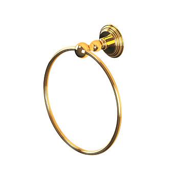 Cristal et Bronze Alizé  Полотенцедержатель кольцо, подвесной, цвет: золото