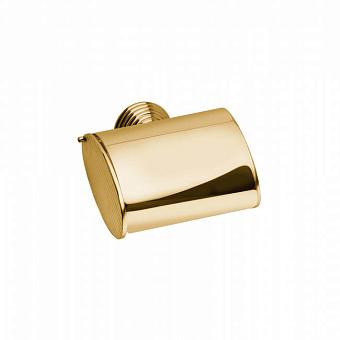 Держатель для туалетной бумаги Bongio Impero, подвесной монтаж, цвет: золото 24к.