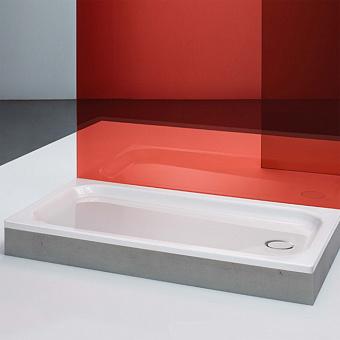 BETTE Душевой поддон прямоугольный 140x100x6.5см, D9см, анти-слип+ самоочищающееся покрытие. цвет белый