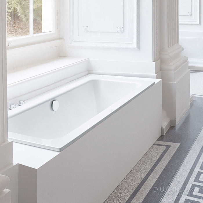 BETTE One Ванна 180х80х42 см, с шумоизоляцией, цвет: белый