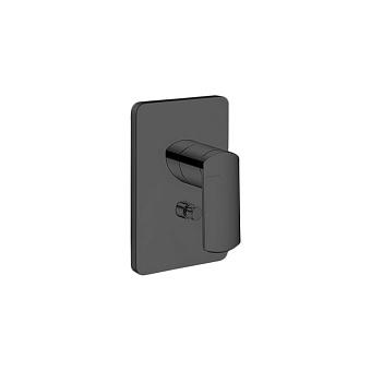 Cristina Profilo Смеситель для ванны/душа с переключателем на 2 выхода, встраиваемый, цвет: черный матовый